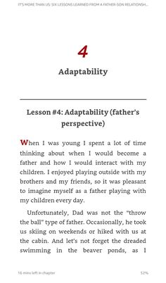 It's More Than Us: Six Lessons Learned from a Father-Son Relationship Becoming A Father, Father And Son, Lessons Learned, My Children, How To Become, Relationship, Learning, Daddy And Son, My Boys