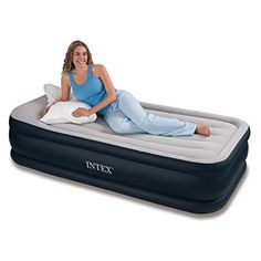 I just read a great review on this Intex Deluxe Pillow Rest Raised Airbed with Soft Flocked Top for Comfort, Built-in Pillow and Electric Pump, Twin, Bed Height 16.75″. You can get all the details here http://bridgerguide.com/intex-deluxe-pillow-rest-raised-airbed-with-soft-flocked-top-for-comfort-built-in-pillow-and-electric-pump-twin-bed-height-16-75/. Please repin this. :)