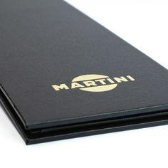 Soho Buckram Menu Covers. The Smart Marketing Group - Casino menu covers. Casino style menu presentation products.