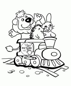 Thomas The Tank Engine Coloring Pages 29