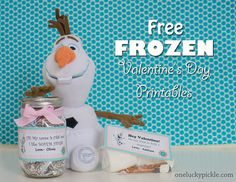 One Lucky Pickle: Frozen Valentine's Day Printable Tags (FREE!)