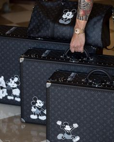 Vintage Mickey for Louis Vouitton!