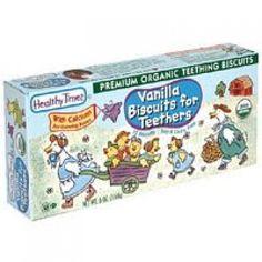 Healthy Times Vanilla Teething Biscuit -- Dairy Free, Soy Free