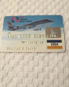 Northwest Airlines Credit Union Visa Card (ex 8/92)
