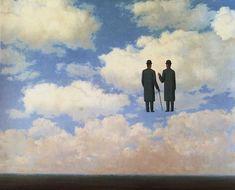La Reconnaissance Infinie (1963) René Magritte.