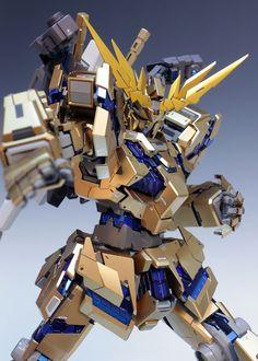 PG 1/60 Unicorn Gundam 03 Phenex - Customized Build Modeled by Redbrick