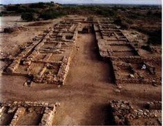 Image result for image of Excavations at Dholavira, the second largest Harappan site located within the present borders of India.