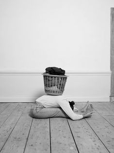 'house/hold' by csilla klenyánszki is an ironic solution for the housework gender gap and its consequences, combining a yoga session with domestic chores. 30 Minute Yoga, Cute Photography, Household Chores, Yoga Sequences, Art Model, Conceptual Art, Yoga Inspiration, Pilates Reformer, Portrait