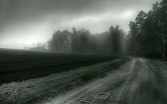 Name: Gloomy weather; Size: 1920 x Category: Nature. Widescreen Wallpaper, Computer Wallpaper, Wallpapers, Bless The Broken Road, Black And White Wallpaper, Black White, Gloomy Day, Landscape Wallpaper, Amazing Nature
