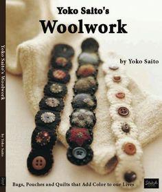 Yoko woolwork book - felt bracelets
