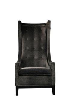 Gray Tall Chair