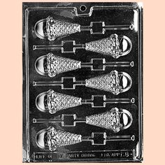 Ice Cream Cones Lollipop Chocolate Mold