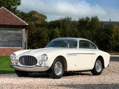 Ferrari 212 Inter Coupe Vignale - The Factory Certificate of Origin is signed by company founder Enzo Ferrari in his legendary purple ink and this alone is a super rare item.
