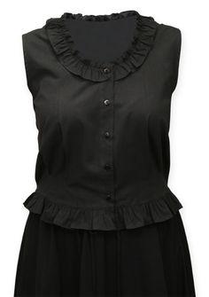 steampunk halloween: Classic Cotton Camisole - Black [002527]