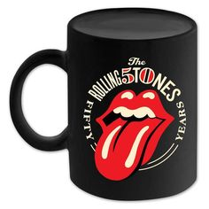 Check out Rolling Stones 50th Anniversary Logo Mug on @Merchbar.