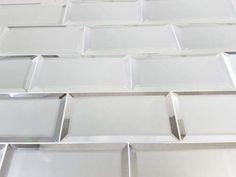Reflections Silver Matte Glass 3x6