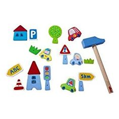 Shop the largest range of Haba in Australia. Buy your Haba toys from Entropy. Wooden Baby Toys, Educational Toys, Doll Toys, Symbols, Games, Alter, Board, Products, Parenting