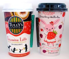 Tully's Coffee package design