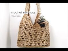 60 Ideas For Knitting Bag Tutorial Handbags Purse Patterns Crochet Bag Tutorials, Crochet Videos, Diy Crochet, Crochet Bags, Crochet Designs, Crochet Patterns, Crochet Shell Stitch, Crochet Handbags, Purse Patterns
