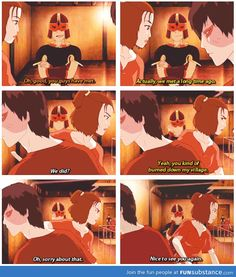 """Zuko's social skills ...and then there's Sokka in the background face palming like, """"why did we decide to let him join us again?"""""""