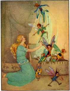 Art by Margaret Evans Price (1926) from ENCHANTMENT TALES FOR CHILDREN.