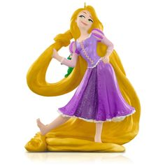 Hallmark 2015 Disney Tangled Rapunzel and Pascal Ornament