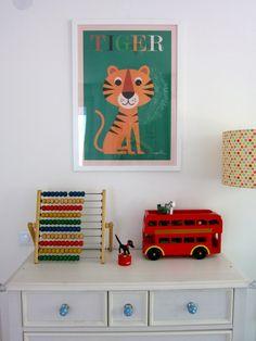 TIGER, Tags Poster + Designerin Ingela + Lilly Berlin