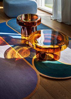 Glass Furniture, Furniture Making, Furniture Design, Weird Furniture, 5' Coffee Table, Table Cafe, Verre Design, Glass Texture, Home And Deco