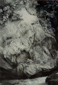 Study of Gneiss Rock by John Ruskin
