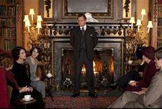 Downton Abbey--Love the parlor drama!