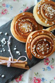 Zimtschnecken - erinnern mich an Schweden :-)