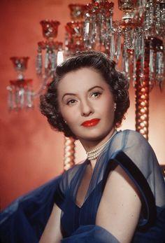 Barbara Stanwyck. Full of colors.