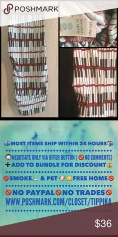 Piano Keys - OS NWT LLR Piano Keys - OS NWT LLR LuLaRoe Pants Leggings