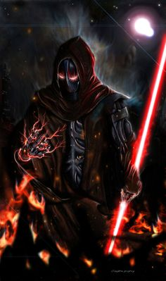 Sith Marauder 5 hours with PS The pose was based on one of Travis Charest's artworks