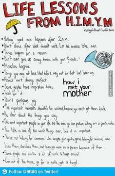 Life lessons from HIMYM