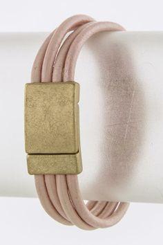 Leather Jenna Bracelet Emma Stine Limited