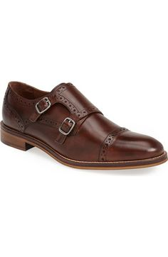 Johnson & Murphy double monkstrap