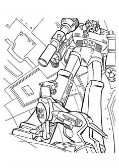 Predaking transformers coloring pages ~ Free Printable Transformers Coloring Pages For Kids   색칠하기 ...