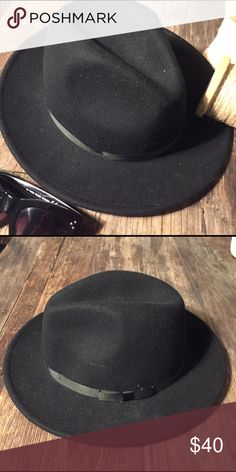 100% Wool Fedora Super Hipster. 👨 or 👩 size M/L Accessories Hats