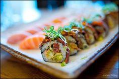 Asakusa-brilliant sushi and sashimi. Full of Japanese-must be good!