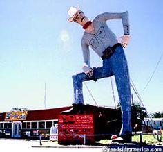 Tex Randall Big Texan in Canyon, TX, near Amarillo