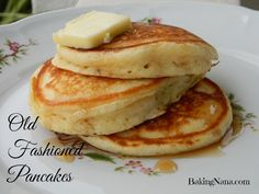 Old Fashioned Pancakes #pancakesfromscratch