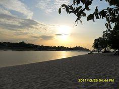 Por do sol em alter do chão - Pará - Brasil