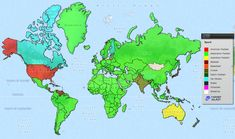 Looking For A Blank World Map Free Printable World Maps To Use In - Blank world map green