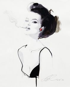 David Downton -High Illustration