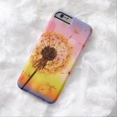 Dandelion Make A Wish Spring iPhone 6 case