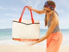 Send your mom off to the beach for a relaxing day and at the same time surprise her with a Shake Women's Tote. The tote is ideal for a day at the beach as it keeps all your beach essentials in but with a simple shake of the tote, all the sand from the beach falls out.