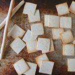Coconut Flour Crackers and Grissini