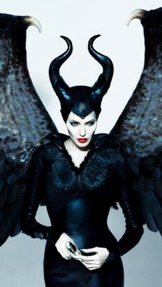 Angelina Jolie as Maleficent | Yes, she belongs on this board!