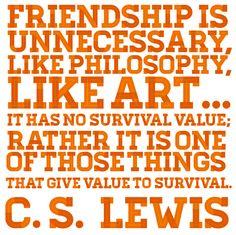 Friendship - C.S. Lewis
